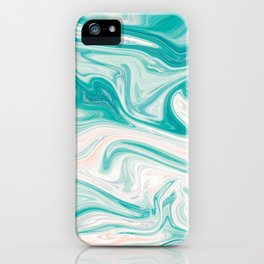 Sea of Marble iPhone Case