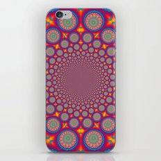 BBQSHOES: Wheels Of Time II Fractal Mandala iPhone & iPod Skin