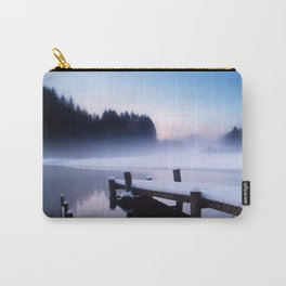 Winter Blues At Loch Ard Carry-All Pouch