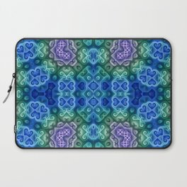 Blue Green and Purple Laptop Sleeve