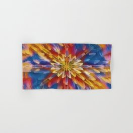 Color Flow Abstract Hand & Bath Towel