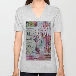 All is well with my Soul  Unisex V-Neck