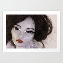 Once Upon A Doll Art Print