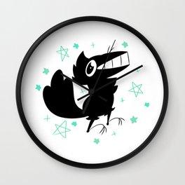 Fishcrow star Wall Clock
