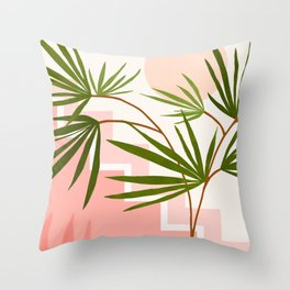 Summer in Belize Throw Pillow