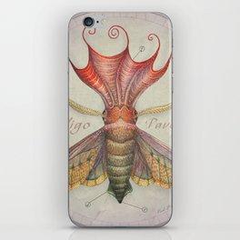 Squid Moth iPhone Skin