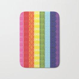 TorsoPattern Gay Pride Flag (Original 8-Color) Bath Mat