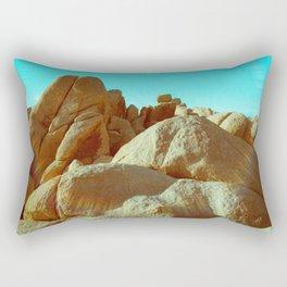 Rainbow Rock Rectangular Pillow