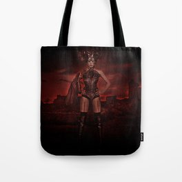 red apocalypse Tote Bag