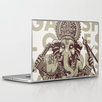 ganesh Laptop & iPad Skins featuring Ganesh by _MattVector
