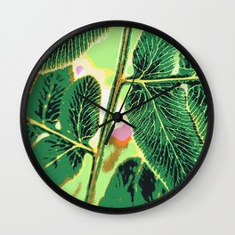 party fern Wall Clock