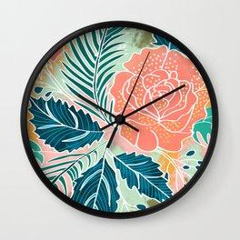 Framed Nature Wall Clock