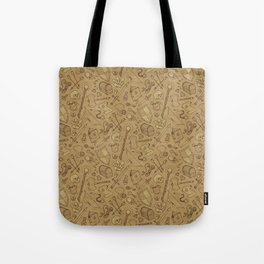 Inventory in Sepia Tote Bag