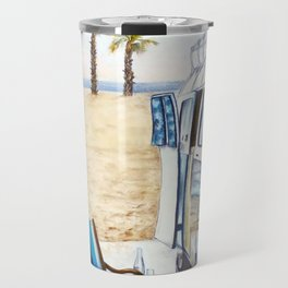 HOLIDAY AT THE BEACH Travel Mug