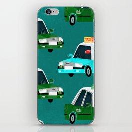 Lantau Taxi iPhone Skin