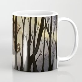 The Forest at Night Coffee Mug
