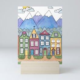 The Village Mini Art Print