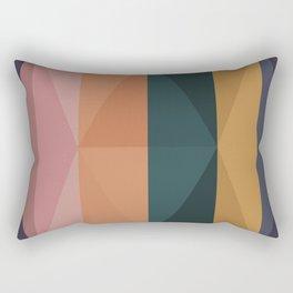 Triangular Pattern II Rectangular Pillow