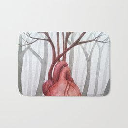 Heart of the Forest Bath Mat