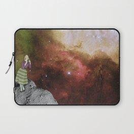 Lady in Space III Laptop Sleeve
