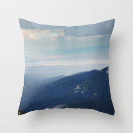 Rain Moves In Throw Pillow