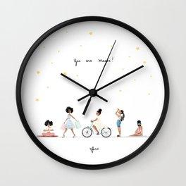 You are Magic! Wall Clock