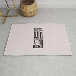 Lab No. 4 Sooner Or Later Richard Bach Motivational Quote Rug