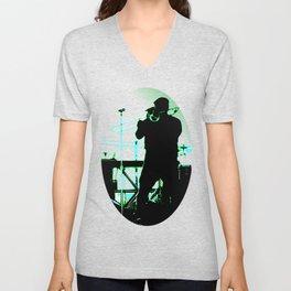 Big Sam (Trombone Man) Unisex V-Neck