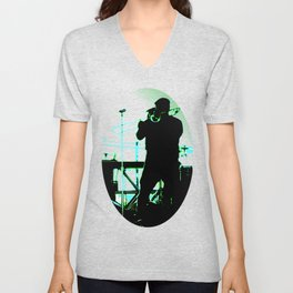 Big Sam (Trombone Man) Unisex V-Neck