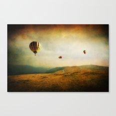 One Man's Dream Canvas Print