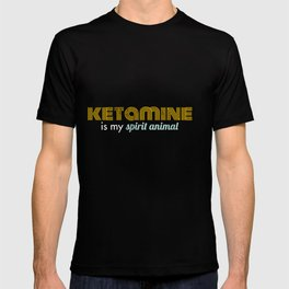 Ketamine Is My Spirit Animal Funny Gift T-shirt