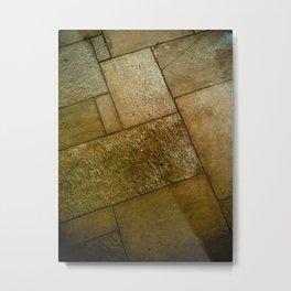 Square Floor Metal Print