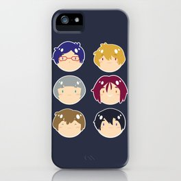 free! ball-faces iPhone Case