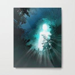 Light in the night Metal Print