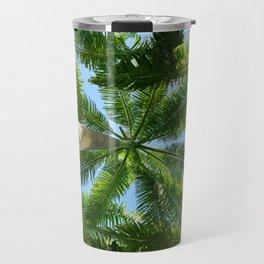 Palm Trees Travel Mug