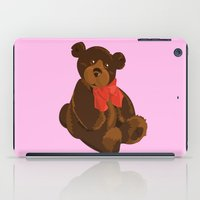 teddy bear iPad Cases featuring teddy bear by ArtSchool