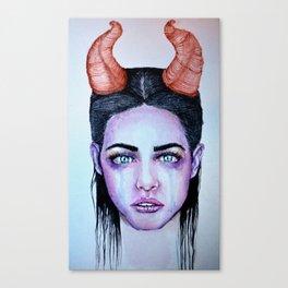 Lovely Beasty Canvas Print