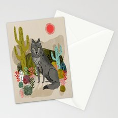 Wolf by Andrea Lauren  Stationery Cards