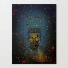 Winterbeest Canvas Print
