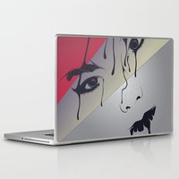 bjork Laptop & iPad Skins featuring Björk by freefallflow