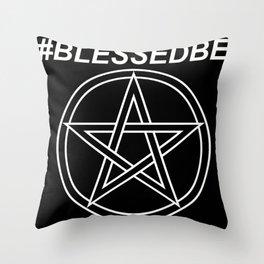 #BLESSEDBE Throw Pillow