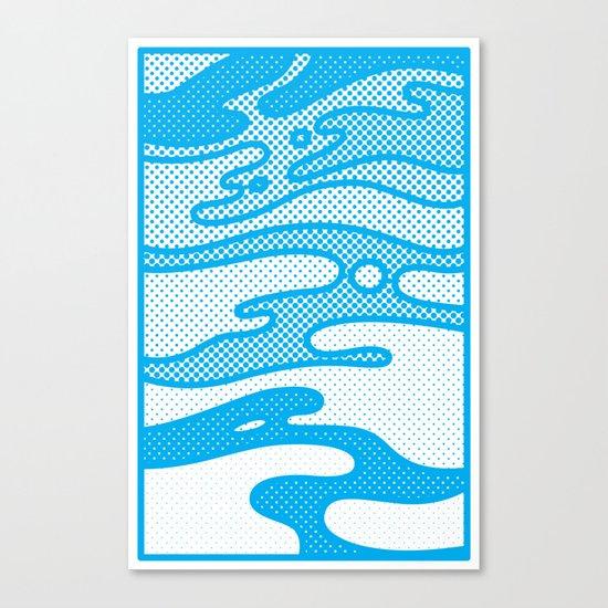 Pop Camo Canvas Print