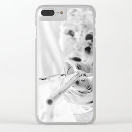 crosshair Clear iPhone Case