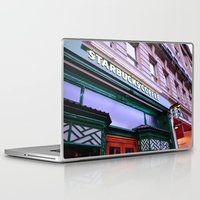 starbucks Laptop & iPad Skins featuring Starbucks Coffee by Giada Ciotola by Giada Ciotola