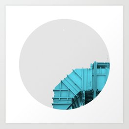 Air intake/ Cian Art Print
