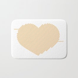 Heart Circuit Bath Mat