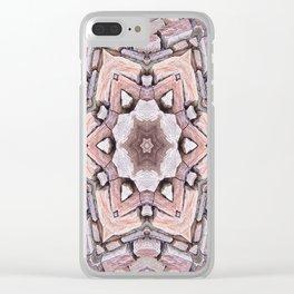 Stone Design Clear iPhone Case