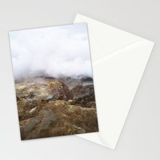 geothermal steam Stationery Cards