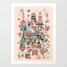 Structura 5 Art Print