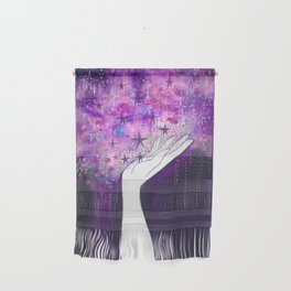 Starlight in your hand Wall Hanging